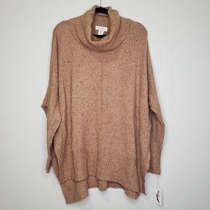 Jessica Simpson oversized dolman cowl neck sweater